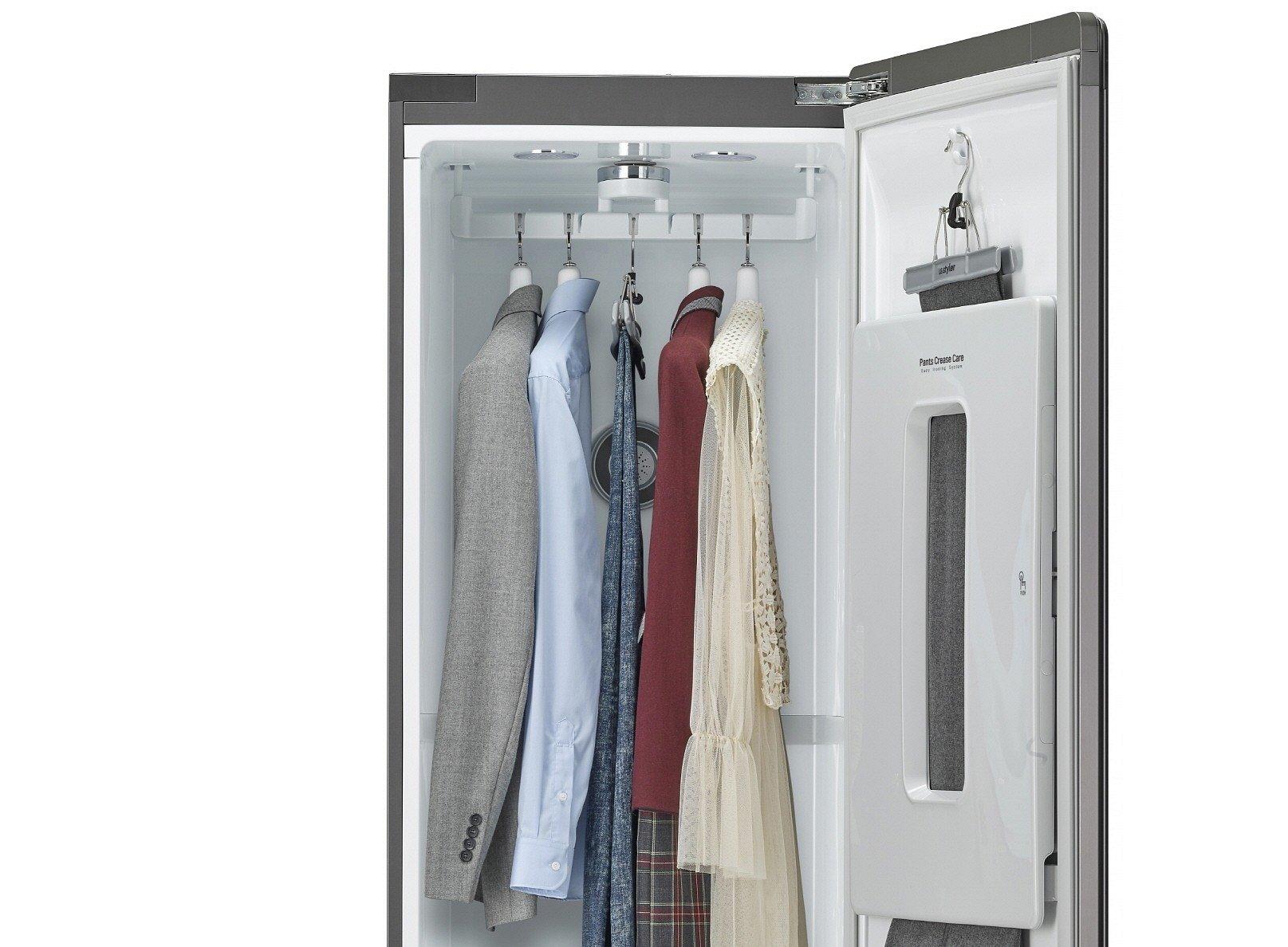 CES 2019: Inteligentne lustro i nowa wersja szafy parowej LG Styler