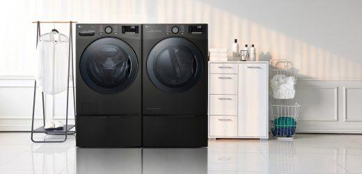 CES 2019: Pralka LG TWINWash™ oraz suszarka ustanawiają nowe standardy wygodnego prania
