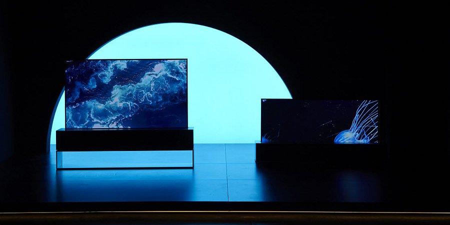 Zwijany telewizor OLED od LG głównym elementem wyjątkowej instalacji podczas Milan Design Week